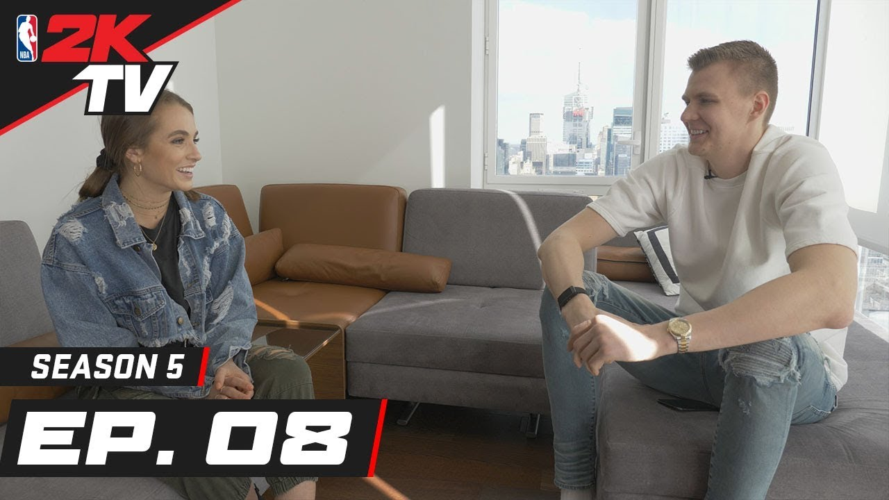Kristaps Porzingis in New York City - NBA 2KTV S5. Ep. 8