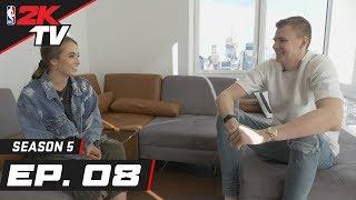 Kristaps Porzingis in New York City - NBA 2KTV S5. Ep. 8