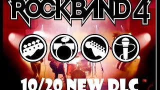 Rock Band 4 Oct 20/2015 DLC Announcement:  Aerosmith Hits Pack!
