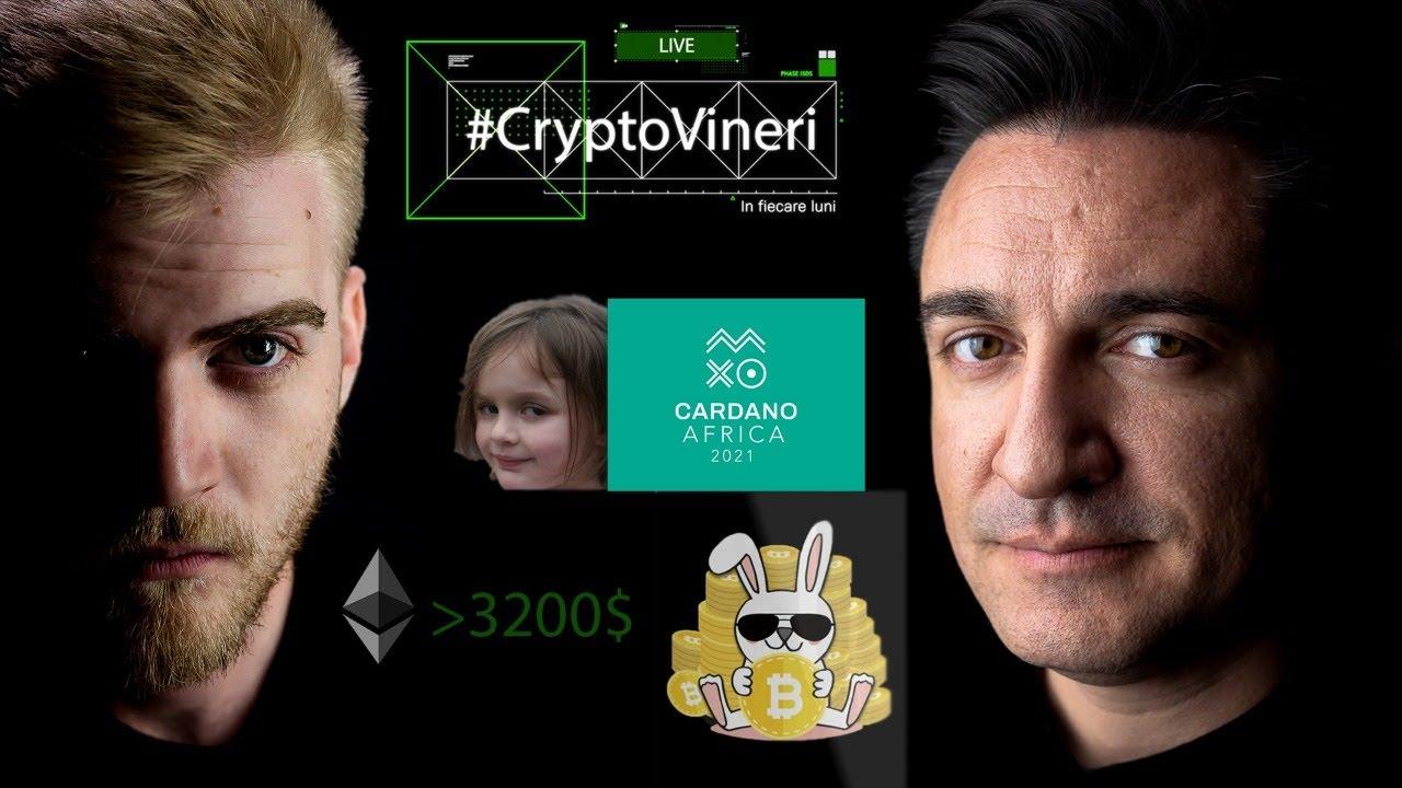 #CryptoVineri 19 - ETH trece peste 3000$, Cardano în Africa, Meme vândut ca NFT cu 500.000$