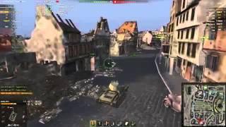 Т 127 Удачный бой Химмельсдорф – Стандартный бой WOT 0 9 2 Full HD