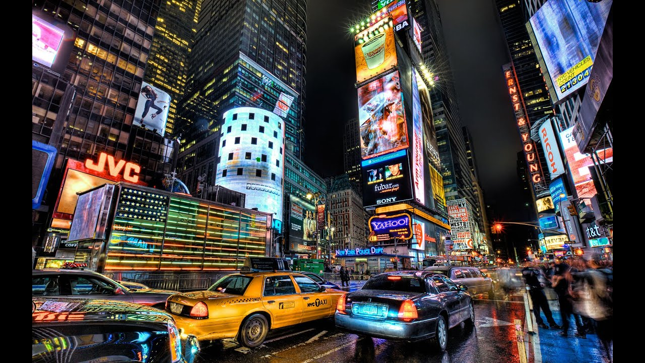 New york city 2014 walking tour in manhattan hd part 1 for Best places to go in nyc at night