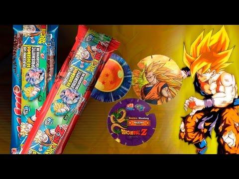 Nuevos tazos dragon ball z gamesa unboxing youtube for Cuartos decorados de dragon ball z