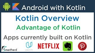 Android Kotlin Tutorial: Create Android Apps using Kotlin
