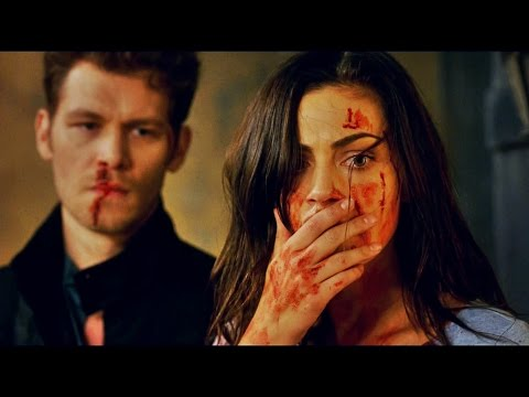 The Originals 3x2  Klaus & Hayley VIOLENT FIGHT!!! Hope is watching.