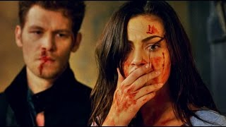 The Originals 3x2 - Klaus & Hayley VIOLENT FIGHT!!! Hope is wathcing.