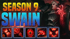 SWAIN GUIDE SEASON 9 (2019) COMPLETE GUIDE! (BEST RUNES, ITEMS, COMBOS, MATCHUPS, GAMEPLAY)