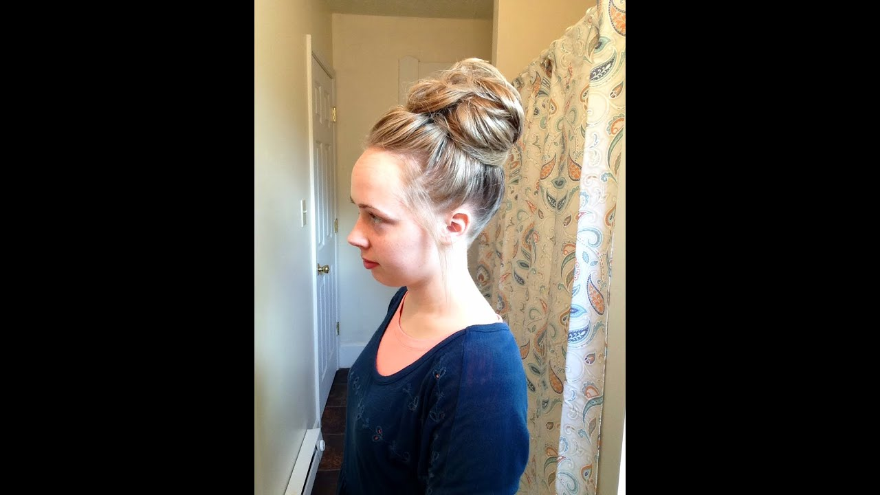 how to style s curly hair bun for hair 1141