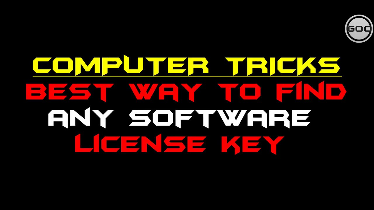 Find Any Software License Key in Windows 7/8/10 Free ...