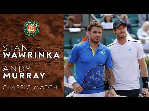 RG Classics - Andy Murray vs Stan Wawrinka - 2017   Roland Garros