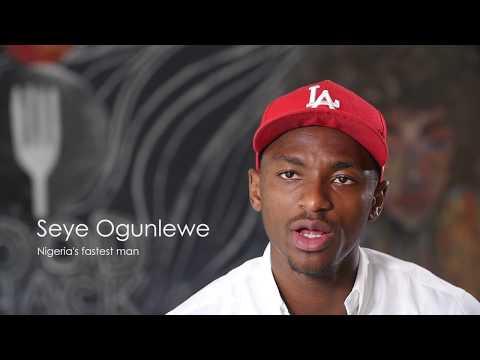 Lion King Magazine Teaser - Nigeria's Fastest Man