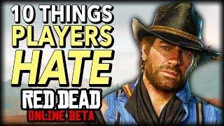 10 Things Players HATE in Red Dead Online