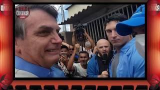Presidente Bolsonaro visita hospital de campanha em Águas Lindas