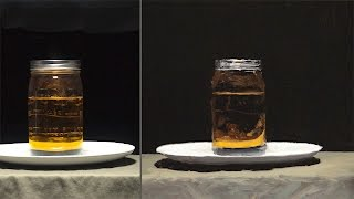 Oil Painting Demo - Painted from Life - Wet in Wet - Jar of Oil