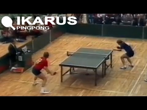 Jónyer vs. Orlowski - European  Table Tennis Championship 1982 final