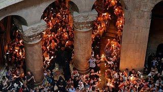 Ierusalim: Ceremonia Focului Sfant
