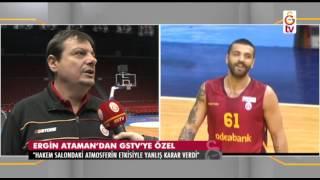 GSTV|Ergin Ataman ve Göksenin Köksal'dan GSTV'ye Özel  Açıklamalar