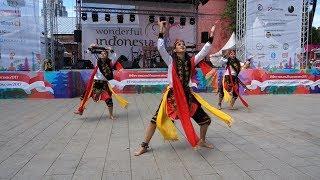 Indonesian Dances, Festival Indonesia 2017 (Индонезийские танцы, Фестиваль Индонезии 2017, Москва)