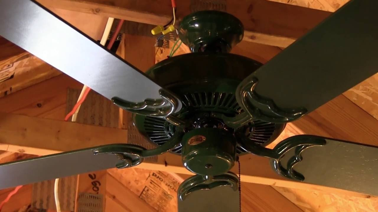 Green emerson designer ceiling fan youtube aloadofball Gallery