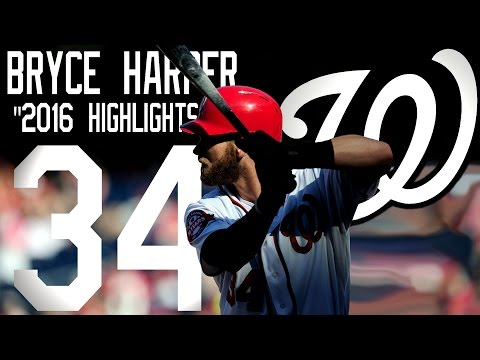 Bryce Harper | Washington Nationals | 2016 Highlights Mix ᴴᴰ
