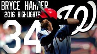 Bryce Harper | Washington Nationals | 2016 Highlights Mix ᴴᴰ