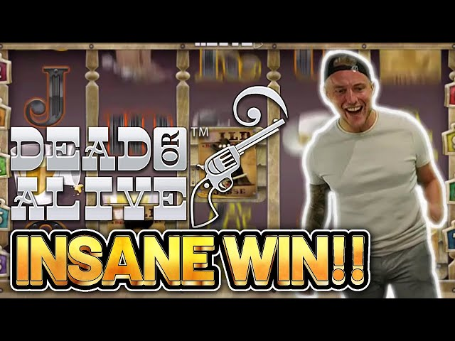 RECORD WIN! DEAD OR ALIVE BIG WIN - €9 BET ON CASINO Slot from CasinoDaddys LIVE STREAM