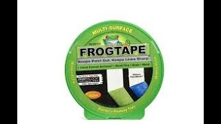 FROG TAPE Painter's tape RESULTS does it work?