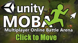 How to make a MOBA in Unity - Click to Move