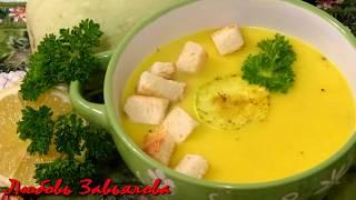 Нежный и Пикантный Суп-Пюре из Кабачка/Soup puree from a vegetable marrow