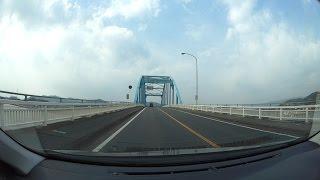 岡山県道398号水島港唐船線、水玉ブリッジライン、r188-R2 車載動画