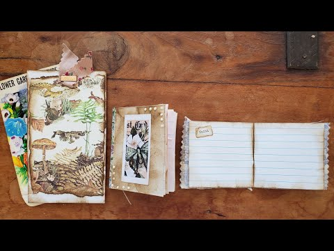 Junk Journal Craft With Me: Alphabet Challenge Letter I For Index Cards! :) The Paper Outpost! :)