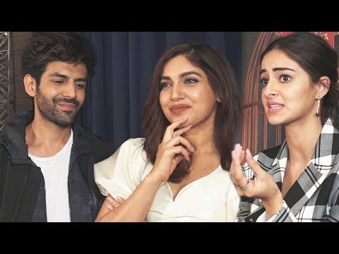 pati-patni-aur-woh-exclusive-interview-|-kartik-aaryan,-bhumi-pednekar-and-ananya-panday
