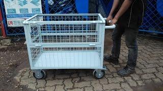 081310045708 TROLI BARANG PAGAR BESI | Jual dan Produksi Trolley barang stainless - BESI