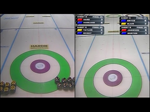 Dumfries Curling Live Scottish Curling Tour 2017 - Draw 5