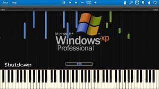 Download WINDOWS STARTUP AND SHUTDOWN SOUNDS IN SYNTHESIA Mp3 and Videos