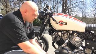 Yamaha XV 750 Virago Cafe Racer