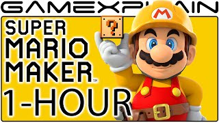 1-Hour of Super Mario Maker Gameplay (Livestream Archive)
