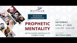 Gambar cover Prophetic Mentality Webinar Conference 2020 | Miftaah Institute
