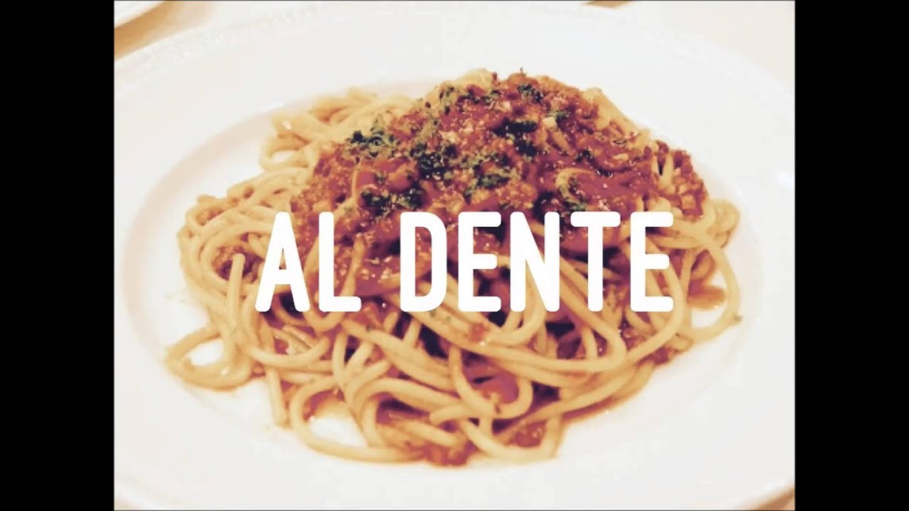 al dente bolognese dente style youtube. Black Bedroom Furniture Sets. Home Design Ideas