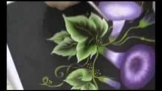 Aplicações de pintura básicas  – Um lindo bouquet de mini flores