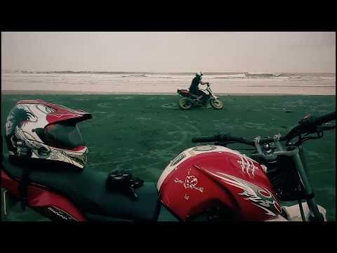 Coxbazar seaside Bike Stunt by Hasan Setu-...