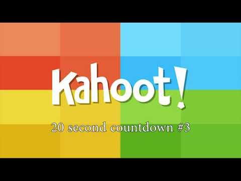 Kahoot! 20 Second Countdown #3 Music