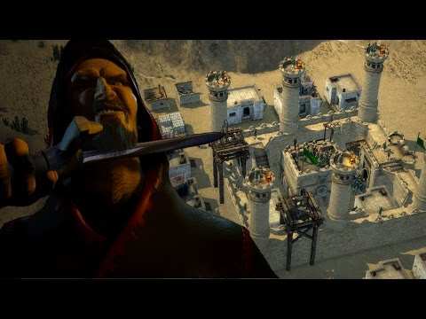 Stronghold Crusader 2 Skirmish - The Caliph vs SergiuHellDragoonHQ