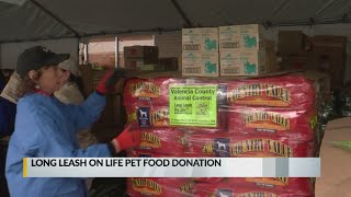 Local animal shelters receive generous donation