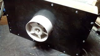 Самодельный пылеуловитель (Homemade dust collector)(Процесс изготовления самодельного пылеуловителя из подручных материалов. Действительно воздух в мастерск..., 2017-01-05T11:03:21.000Z)