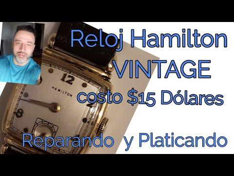 Reloj Hamilton Vintage (Antiguo) reparando y platicando, me costó 15 dólares 😱