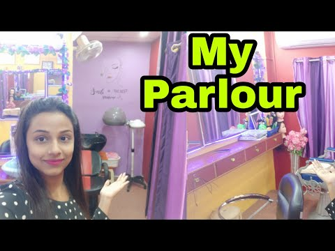 My Parlour Tour || Neha Beauty Hub