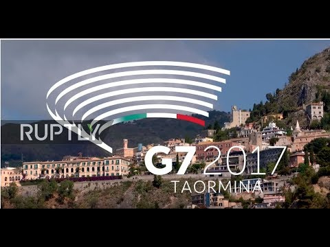 LIVE: G7 summit gets underway in Taormina, Sicily: day one