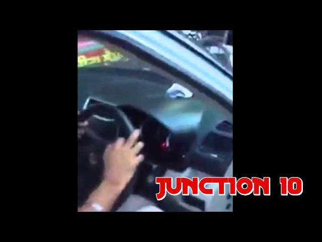 PUNJAB POLICE ASI CAUGHT DRIVING CAR WITHOUT NUMBER PLATE