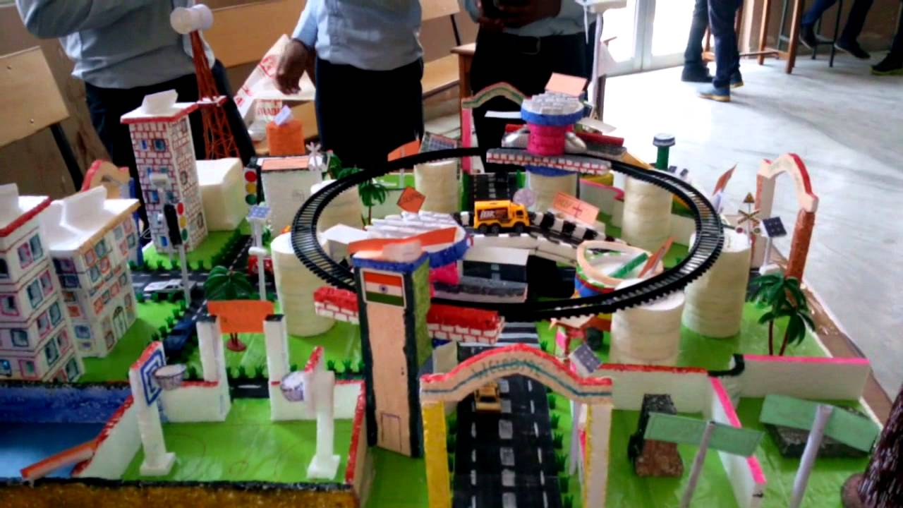 Pictures Of Toy Models Of Cities : Smart city model youtube